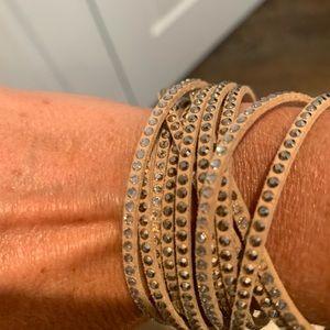 Swarovski wrap bracelets